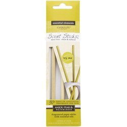 Candle-lite Essential Elements ScentSticks fragranced paper sticks with essential oils - Anjou Pear & Watercress