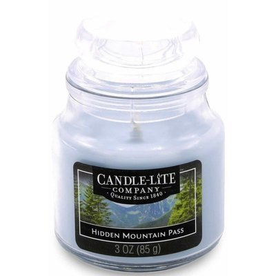 Candle-lite Everyday Collection Small Scented Candle 3 oz 85 g - Hidden Mountain Pass
