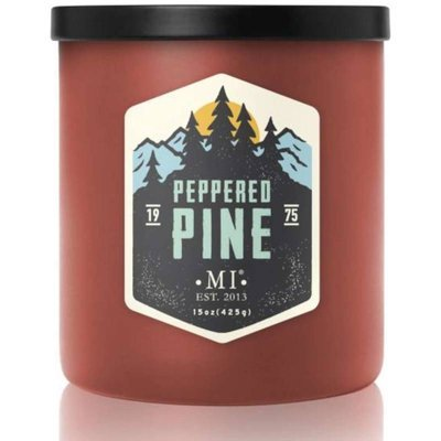 Colonial Candle All American masculine soy scented candle 15 oz 425 g -  Peppered Pine