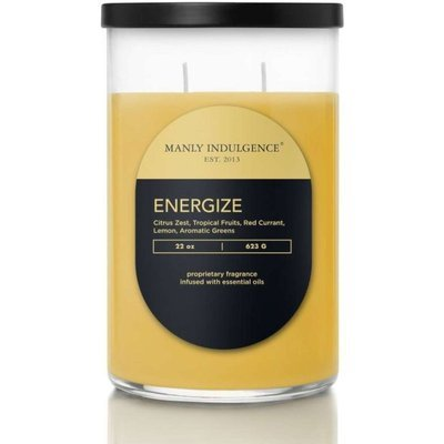 Colonial Candle Contemporary masculine soy scented candle 22 oz 623 g - Energize
