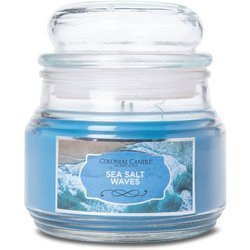 Colonial Candle medium scented Terrace jar candle 9 oz 255 g - Sea Salt Waves