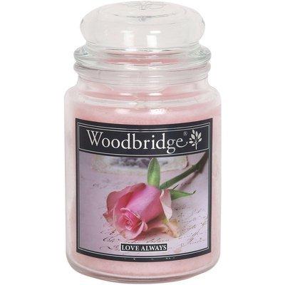 Woodbridge Scented Candle Large Jar 2 wicks 565 g - Love Always