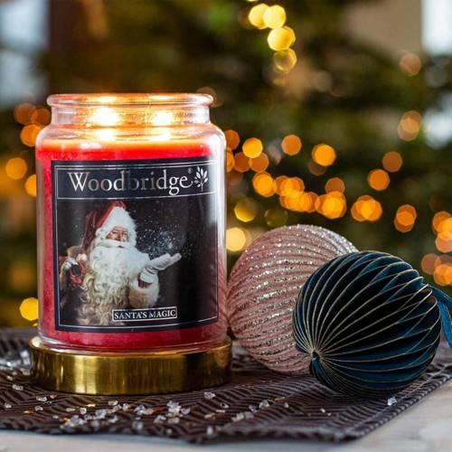 Woodbridge Scented Candle Large Jar 2 wicks 565 g - Santa's Magic