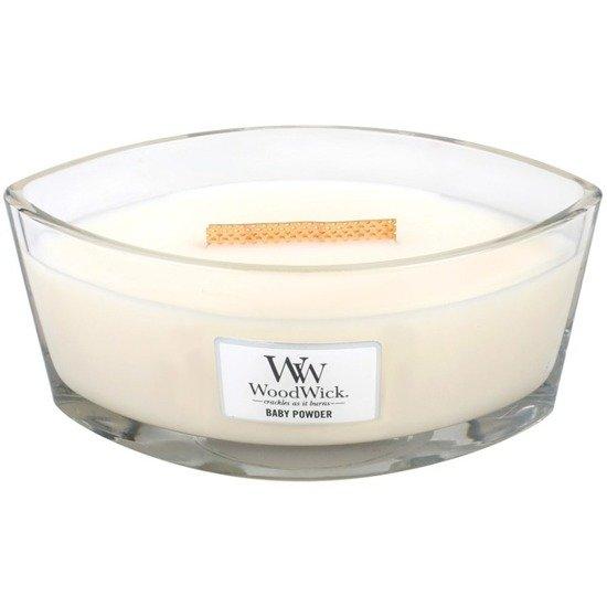 WoodWick Core Heartwick Candle świeca zapachowa sojowa w szkle łódka ~ 60 h - Baby Powder