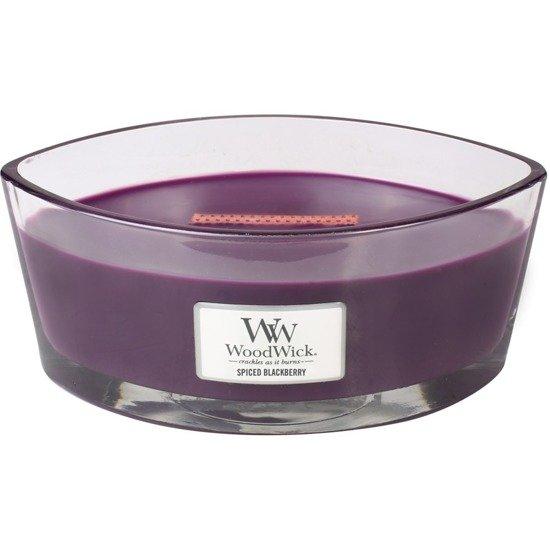 WoodWick Core Heartwick Candle świeca zapachowa sojowa w szkle łódka ~ 60 h - Spiced Blackberry