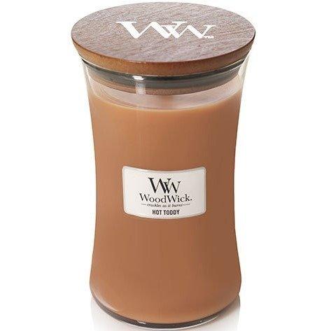 WoodWick Core Large Candle świeca zapachowa sojowa w szkle ~ 175 h - Hot Toddy