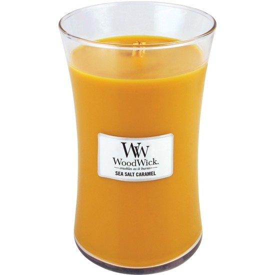 WoodWick Core Large Candle świeca zapachowa sojowa w szkle ~ 175 h - Sea Salt & Caramel