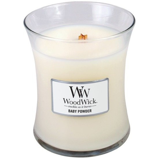 WoodWick Core Medium świeca zapachowa sojowa w szkle ~ 100 h - Baby Powder