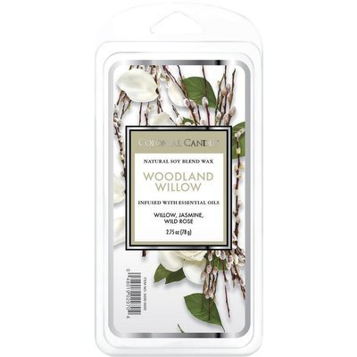 Colonial Candle Classic soy wax melt 6 cubes 2.75 oz 77 g - Woodland Willow